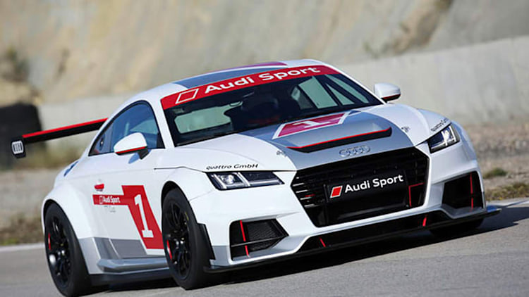 Audi reveals new TT spec racer