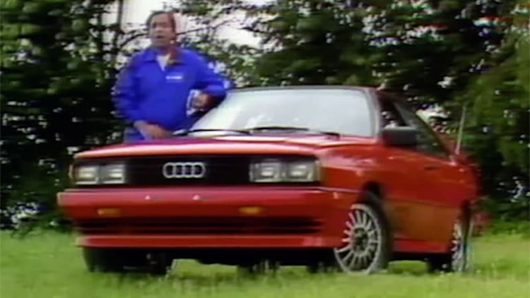 MotorWeek revisits Audi's iconic Quattro