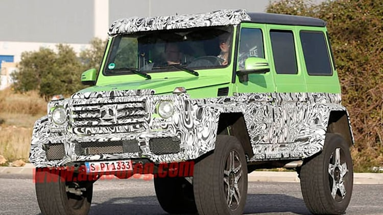 Mercedes channels the Hulk with off-road G63