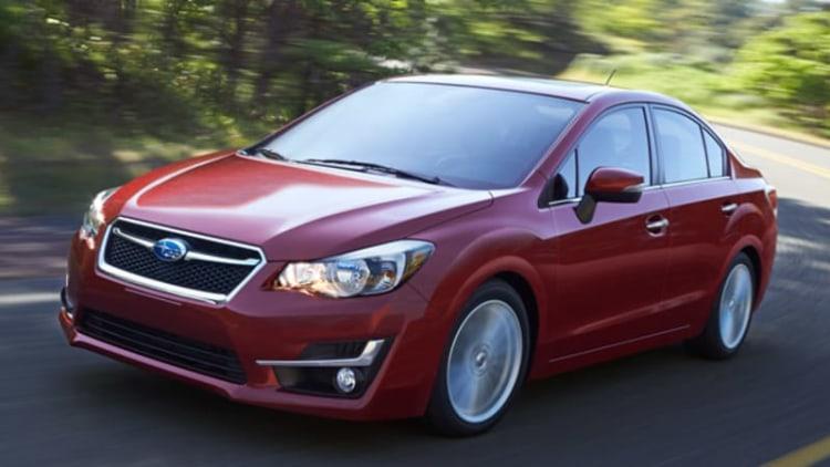 2015 Subaru Impreza gets visual tweaks, added refinement