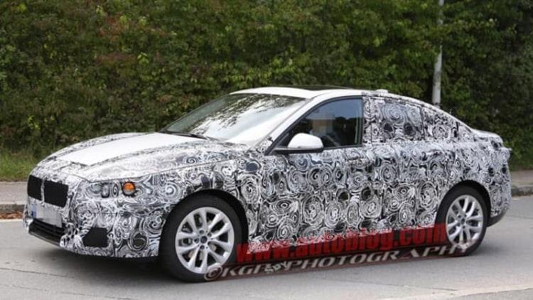 BMW 1 Series sedan prepares to fight Mercedes CLA, Audi A3