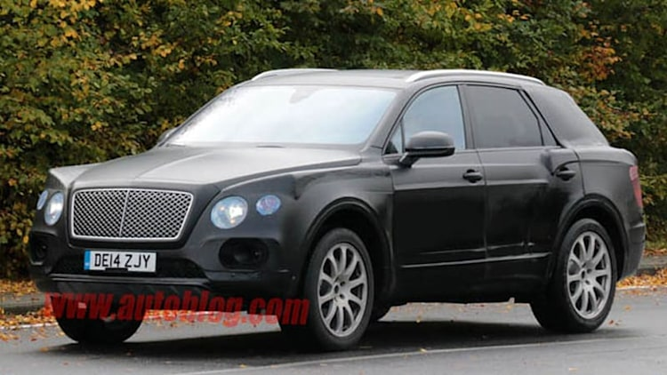 Bentley to call its upcoming crossover Bentayga?