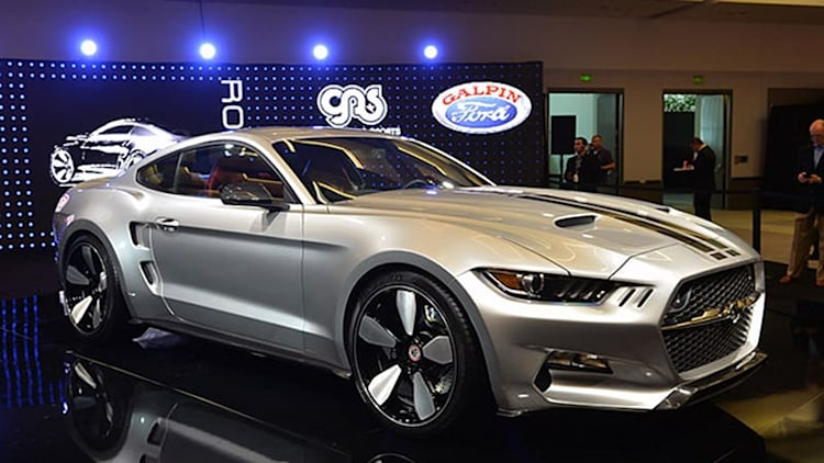 Galpin Auto Sports and Fisker turn the Mustang into a Rocket in LA [w/video]