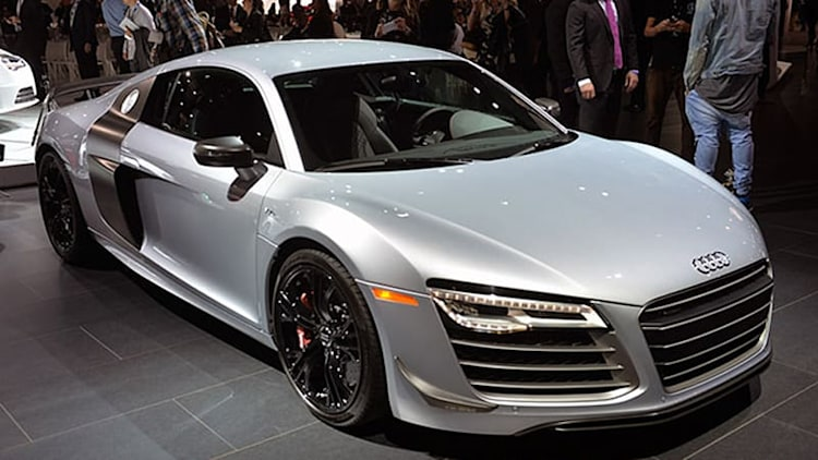 Audi R8 bids adieu with the 570-hp Competition in LA