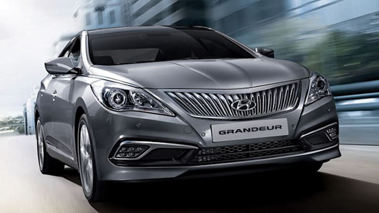 Hyundai reveals refreshed Grandeur sedan in South Korea