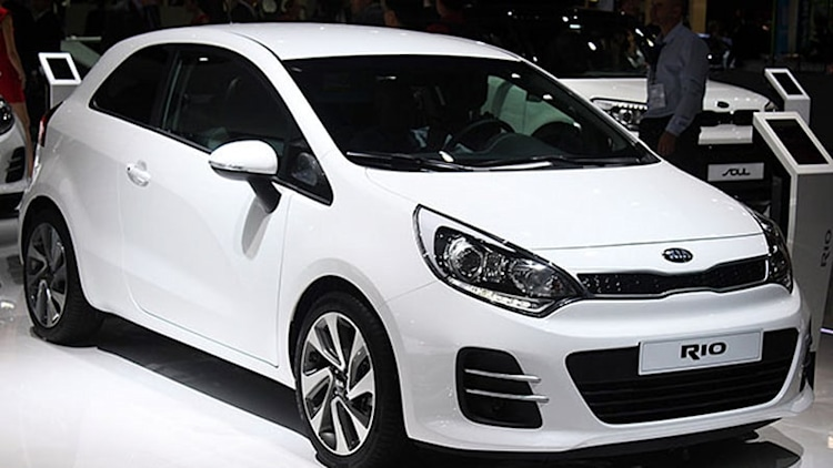 2015 Kia Rio freshens up for France