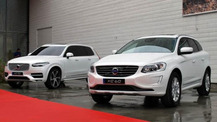 Volvo aligning model range into three families