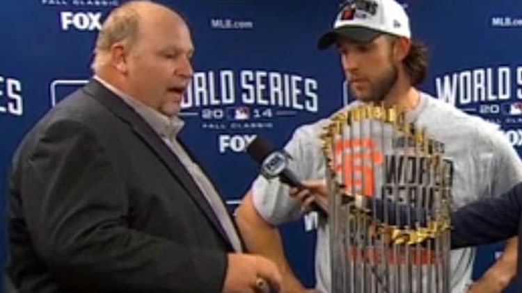 Chevy presents Colorado with 'technology and stuff' to World Series MVP [UPDATE]