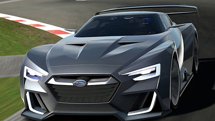 Subaru Viziv GT gears up for Vision Gran Turismo action [w/video]