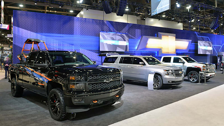 Chevrolet truck and SUV customs emphasize light weight and heavy style [w/video]