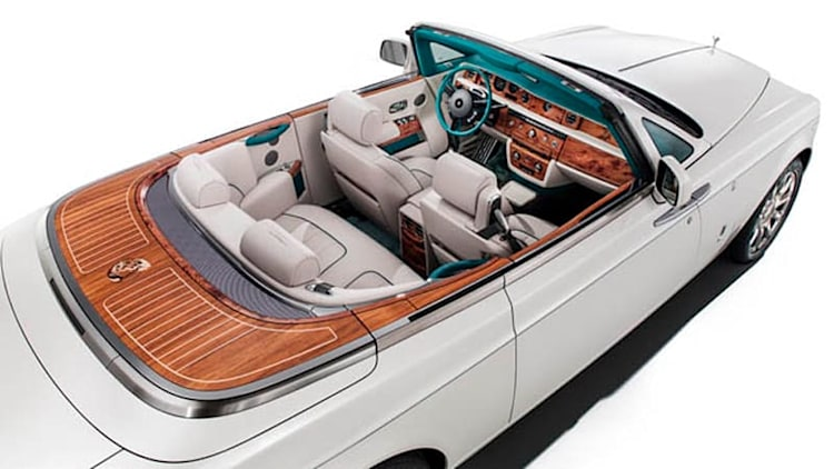 Rolls-Royce celebrates Maharajas with special Phantom DHC
