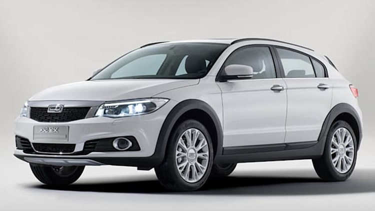 Qoros 3 City SUV unveiled in Guangzhou