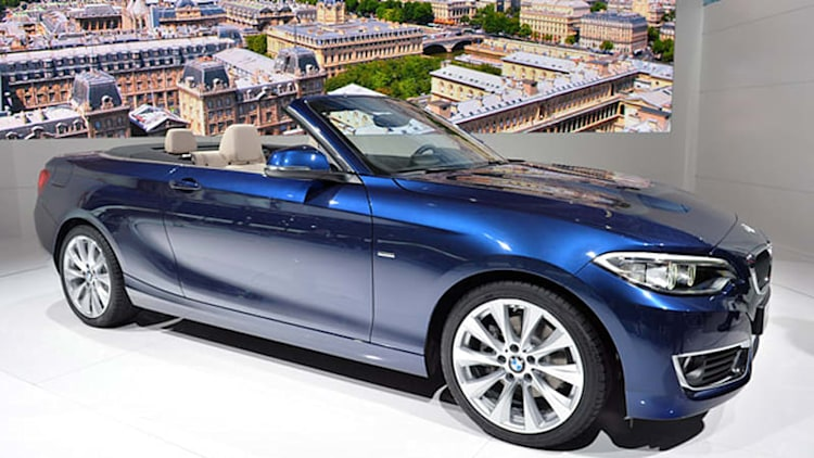 2015 BMW 2 Series Cabriolet flips its lid [w/video]