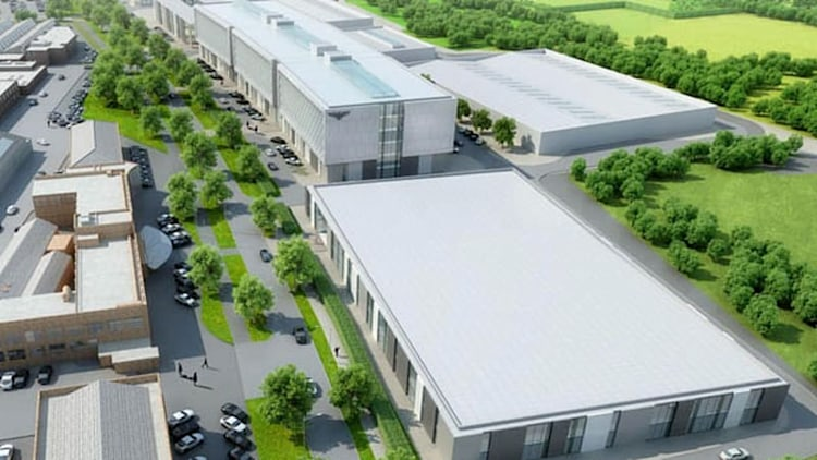 Bentley opening new R&D center in Crewe