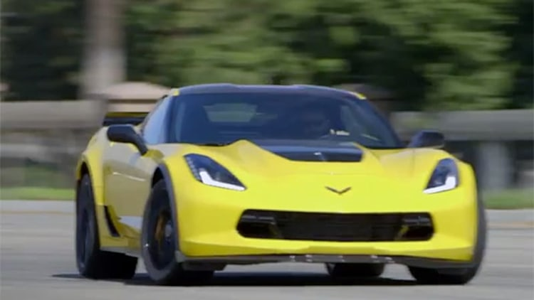 Motor Trend wheels the 2015 Corvette Z06