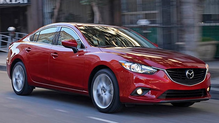 100k Mazda6 sedans recalled over tire-monitoring systems