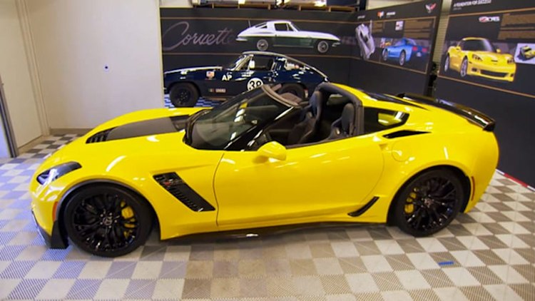 Leno samples Corvette Z06, steam cars, supercars and the wonders of Pebble Beach