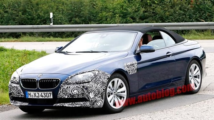 BMW 6 Series Convertible gets a little work done for 2015