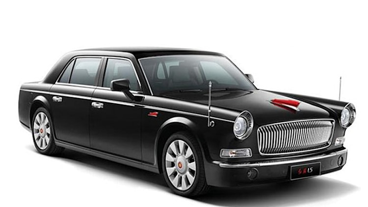 First production Hongqi L-Series sells at Beijing Motor Show for $800,000