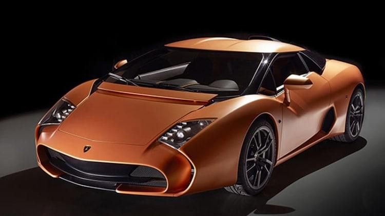 Zagato Lamborghini 5-95 successfully aims to be an instant collectible [w/video]