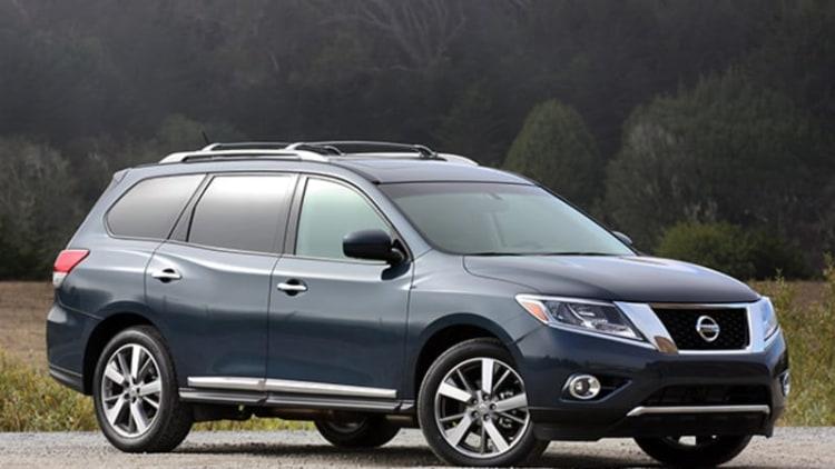 Nissan recalls 3,065 Pathfinders for transmission fluid leak