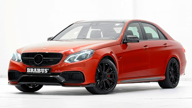 Brabus tunes Mercedes E63 to 850 horsepower