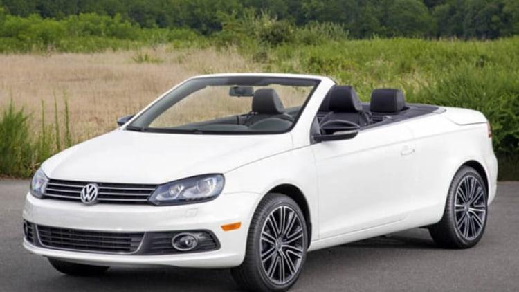 Volkswagen says goodbye to Eos, Routan in 2015 updates
