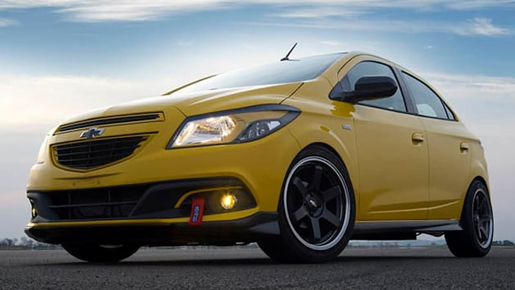 Chevy showcases four concepts at Sao Paul