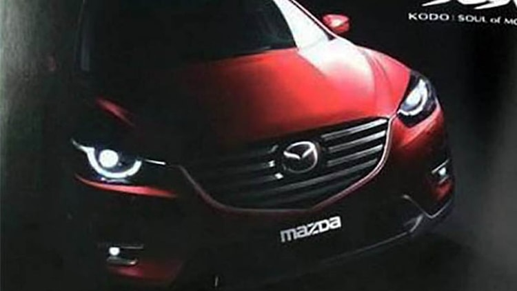 Mazda CX-5 facelift leaks online