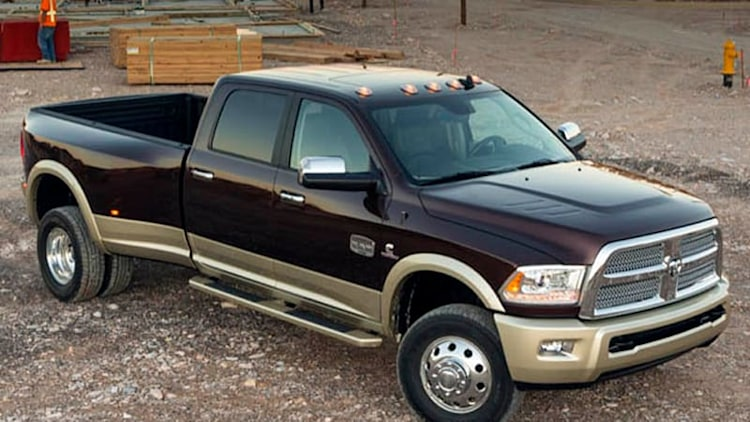 Chrysler recalling 382k Ram HD diesel pickups, 184k SUVs