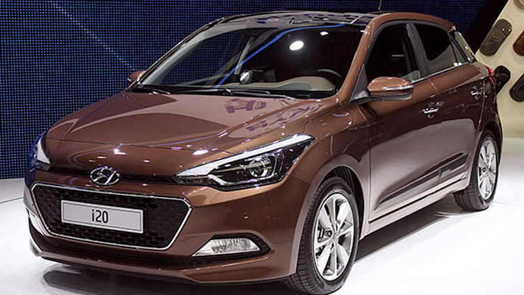 Hyundai i20 shows what brown can do for you [w/video]
