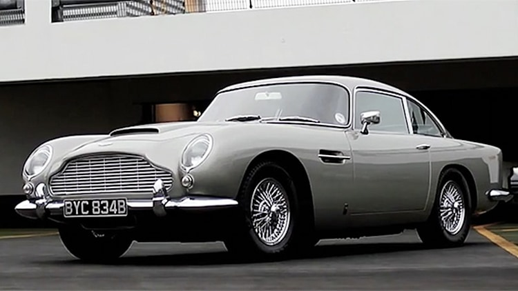 New Bond car nets Xcar Aston Martin retrospective
