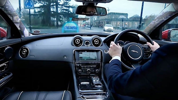 Jaguar Land Rover develops 'transparent' A-pillar and ghost car [w/video]