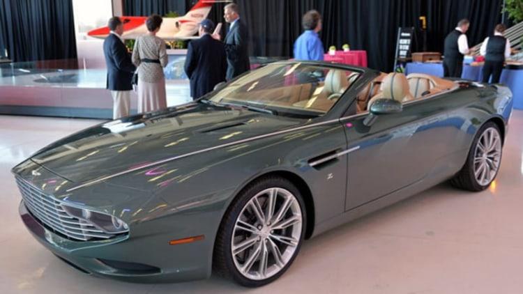 Aston Martin trademarks DB10 through DB14