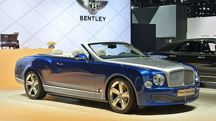 Bentley Grand Convertible is grand, is a convertible