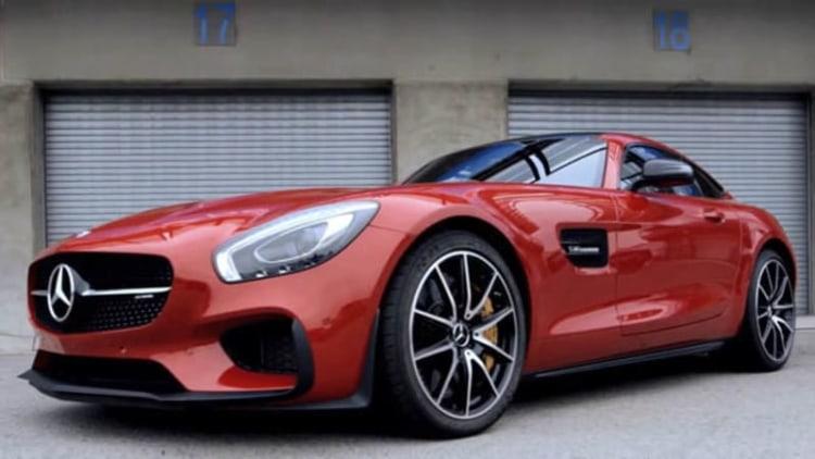 Chris Harris falls in love with Mercedes-AMG GT at Laguna Seca