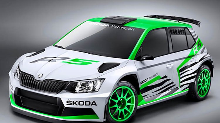 Skoda reveals new Fabia R5 rally concept in Essen