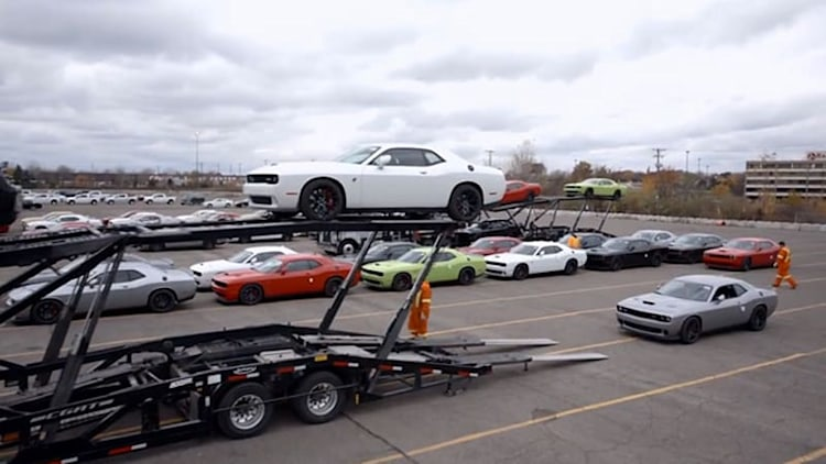 2015 Dodge Challenger SRT Hellcat en route to dealers