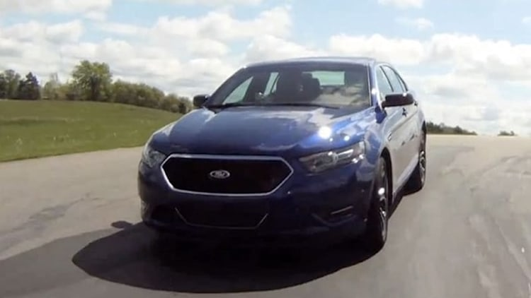Ford Taurus SHO Performance Package adds track day bite