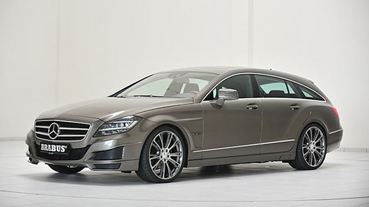 Brabus goes to work on Mercedes-Benz CLS Shooting Brake