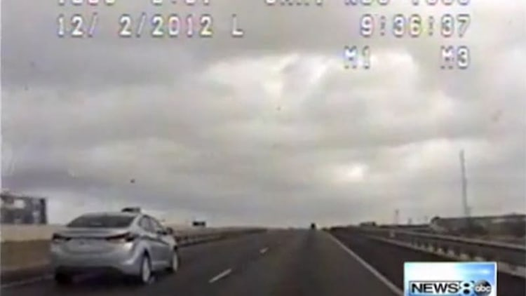 Hyundai Elantra's alleged unintended acceleration sends teen, police on a 113-mile ride