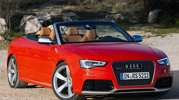 Audi RS5 Cabriolet priced from $77,900*
