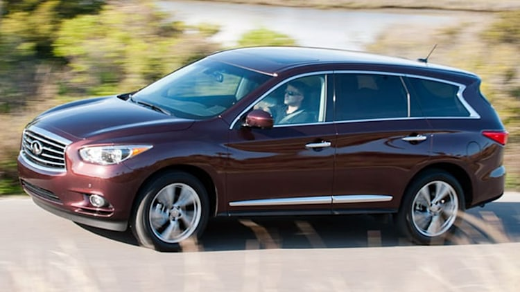 Infiniti announces pricing for 2014 QX60 and QX70