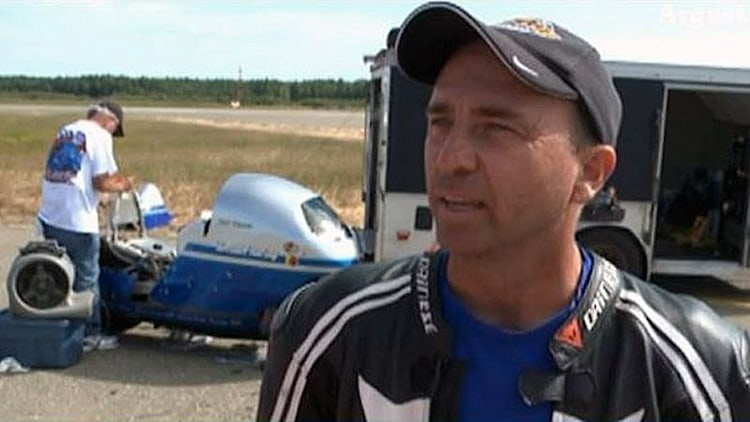 Land-speed racer Bill Warner dies from motorcycle crash at 285 MPH