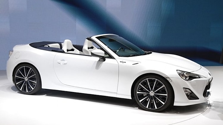 Scion rules out roadster, turbo versions of FR-S