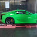 green Lexus LFA Photos
