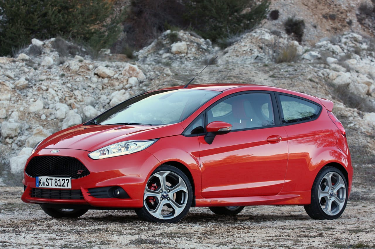 2014 Ford Fiesta ST: First Drive Photos
