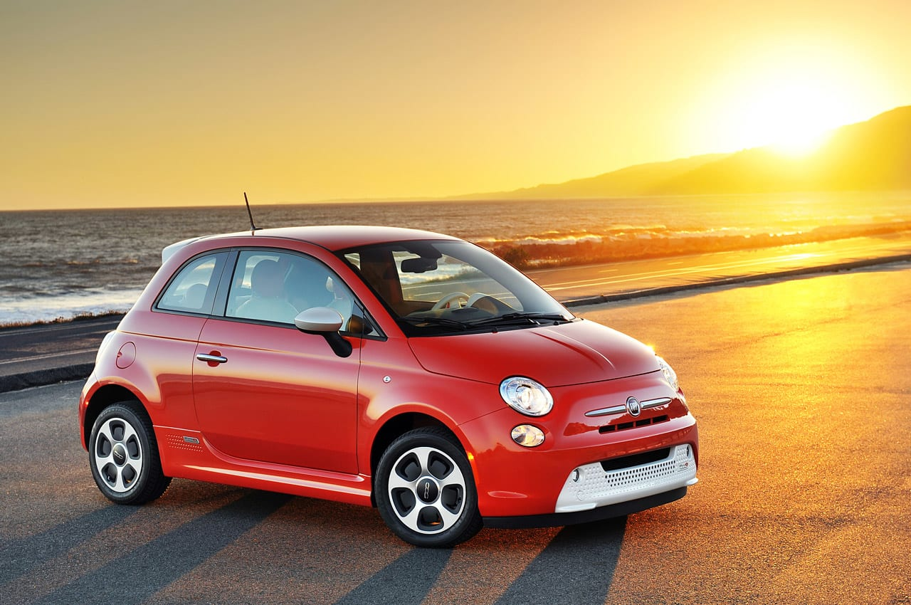 2013 Fiat 500e First Drive Photos