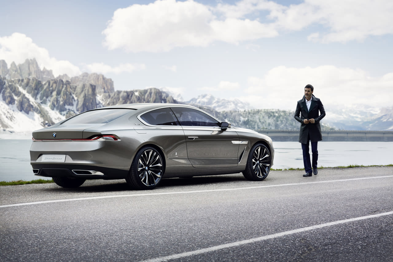 BMW Pininfarina Gran Lusso Coupe Photos