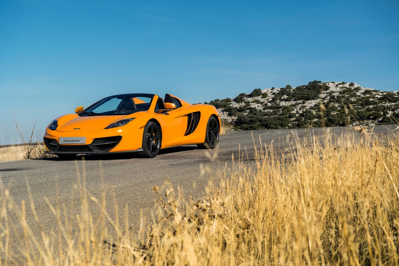 Anniversary Edition McLaren MP4-12C Photos